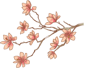 Flower Branch Png 22493 | LINEPC